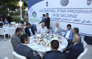 Beykoz Belediyesi Suriyelilere İftar Verdi