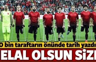Millilerimiz Tarih Yazdı! Avrupa Şampiyonu Türkiye...
