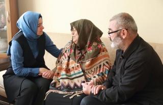 Bakan Kaya'dan Beykoz'a Taziye Ziyareti