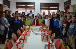 Şehit Er Ersin Güner İlkokulu Kütüphanesine Kavuştu
