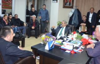 Artvinliler Yöresel Müzikleriyle CHP Beykoz'u Ziyaret...