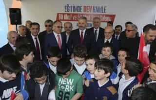 Necip Fazıl İlkokulu, Cumhurbaşkanı Erdoğan'ın...