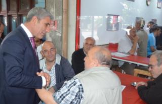 CHP Vekil Adayı Uzunyayla, Beykoz'da Esnaf Ziyareti...