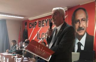 CHP'li Düzgün: 'Beykoz'un Kötü Gidişatının...