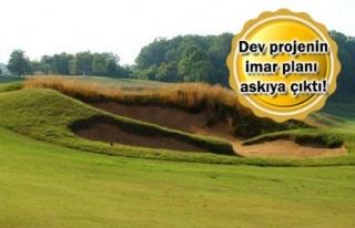 Mustafa Vehbi Koç Golf Tesisi İçin İmar Planı...