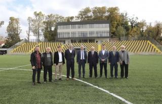 Başkan Çelikbilek Beykoz Stadı'nı İnceledi