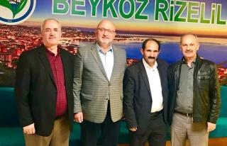 Dernekler Birliği Dönem Başkanı Mikail Akyıldız...