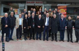 CHP'li Başkan Adaylarından Esnaf Ziyareti