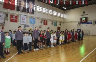 Okullar Arası Hentbol Ligi Müsabakaları Başladı