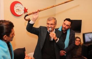 Murat Aydın, Dereseki'de Eline Bastonu Aldı ve Festival...
