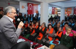 Murat Aydın, Tokatköy Halkını Dinledi
