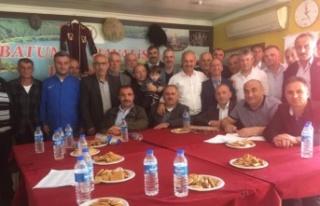 Batumlulardan Ali Kemal Kılıç'a Tam Destek