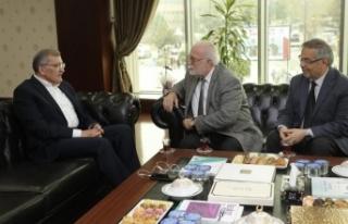 Murat Aydın'a Tebrik Ziyaretleri Başladı
