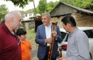 Başkan Murat Aydın Beykoz'daki Baston Sanatını...