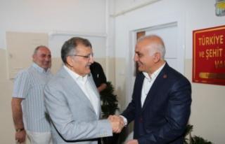 Murat Aydın ve Ekibinden MHP Beykoz'a Ziyaret