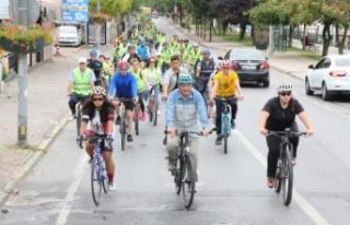 Başkan Murat Aydın'ın Başlattığı Bisiklet...