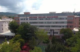 Beykoz Hastanesi'nde Grip Teşhisi Konulan Adam,...