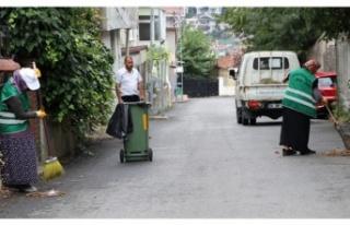 Beykoz'un Mahalleleri Karış Karış Temizleniyor