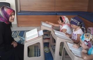 Beykoz Ülkü Ocakları'dan Kuran Eğitimi