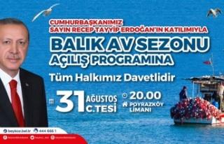 Cumhurbaşkanı Erdoğan Balık Av Sezonunu Poyrazköy'de...