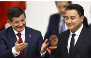 Ahmet Davutoğlu ve Ali Babacan'nın Beykoz İlçe...