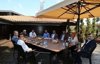 Anadolu Yakası Belediye Başkanları Beykoz'da...