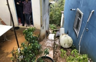 Beykoz'da Su Baskını