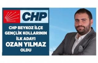 CHP Beykoz Gençlik Kollarının İlk Adayı Ozan...