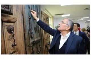 Kapı Tokmakları Sergisi Beykoz'da Açıldı
