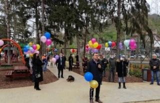 Akbaba'da 23 Nisan 100. Yıl Parkı açıldı