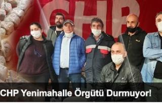 CHP Beykoz Yenimahalle örgütü, mahallesini unutmadı!