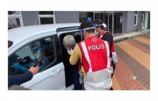 Beykoz'daki cinayet zanlısı adliyeye sevk edildi