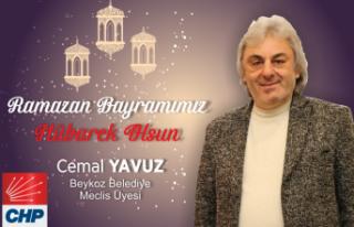 Cemal Yavuz'dan Bayram Mesajı