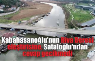 Kabahasanoğlu'nun Riva Deresi eleştirisine,...