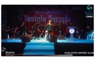 """Beykoz'da """"sazıyla, sözüyle"""" müzik..."""