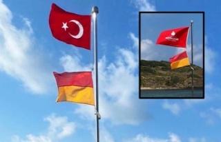 İBB ve Beykoz Belediyesi arasındaki Bayrak krizi...