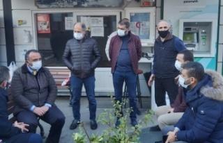 """Hanefi Dilmaç: """"Taksici esnafının yanındayız"""""""
