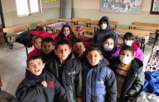 Acarkent Rotary'den Van'daki köy okuluna...