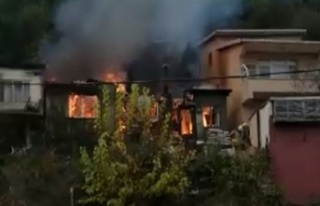 Anadolukavağı'nda korkutan yangın