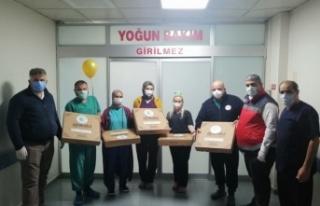 Beykoz Belediyesi, yılbaşında da sağlık çalışanlarını...