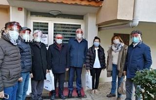 """CHP Beykoz'dan """"Sen varsan biz varız""""..."""