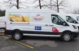 İBB'nin 40 mobil ekmek büfesi hizmette