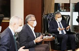 İstanbul Valisi Yerlikaya Beykoz'u ziyaret etti