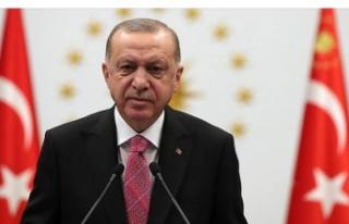 Cumhurbaşkanı Erdoğan'dan Sevgi Kılıç'a...