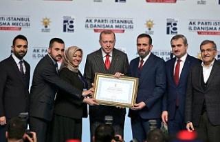 """""""50 bin üyemizle  #ErdoğanınYanındayız"""""""