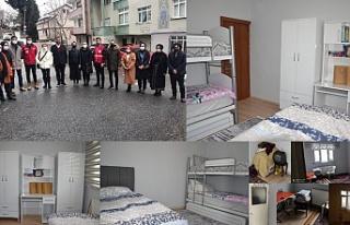 """""""GönülHanem"""" Projesi'nde ilk çocuk odası..."""