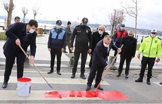 Beykoz'da yaya önceliği kırmızı çizgimizdir!