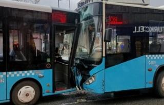Paşabahçe'de otobüs kazası