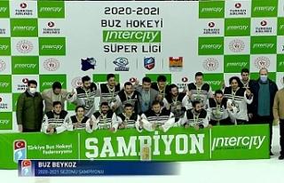 Buz Beykoz ikinci kez şampiyon oldu!