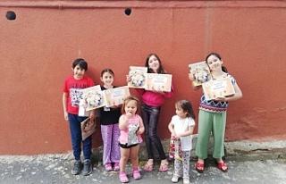 Çocukların ilk oruç hediyesi AK Parti Beykoz'dan